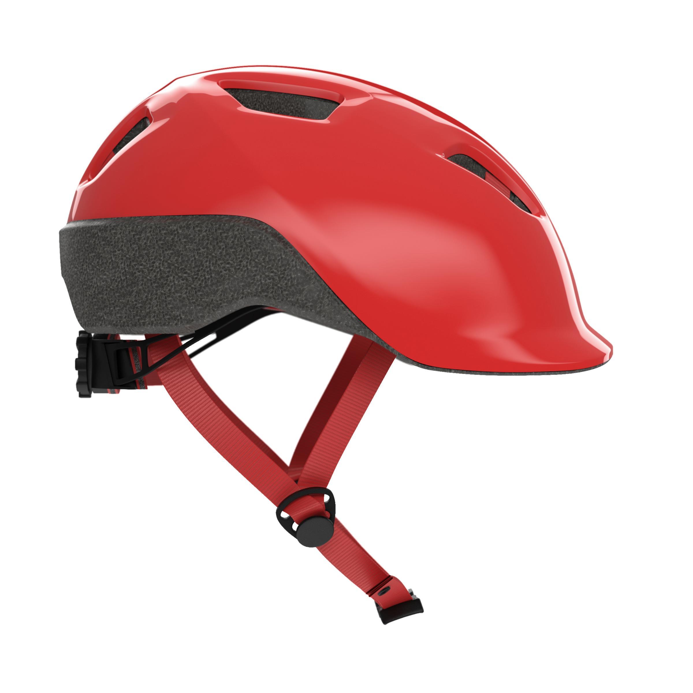 500 Kids' Cycling Helmet - Red