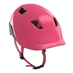 Fahrradhelm 500 Kinder rosa