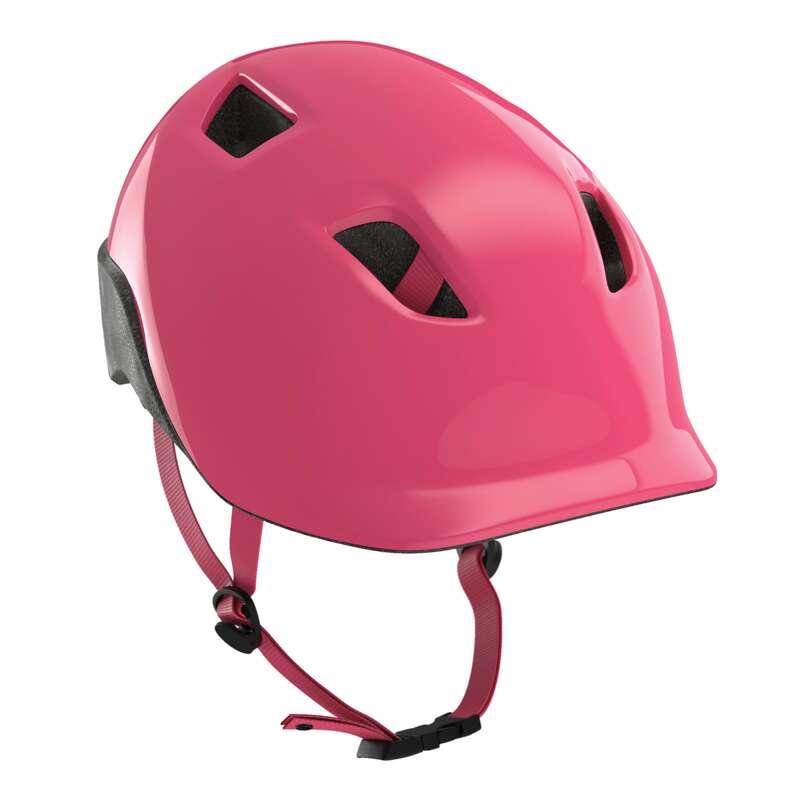 KIDS BIKE HELMETS Cycling - KH 500 - Pink BTWIN - Bike Helmets