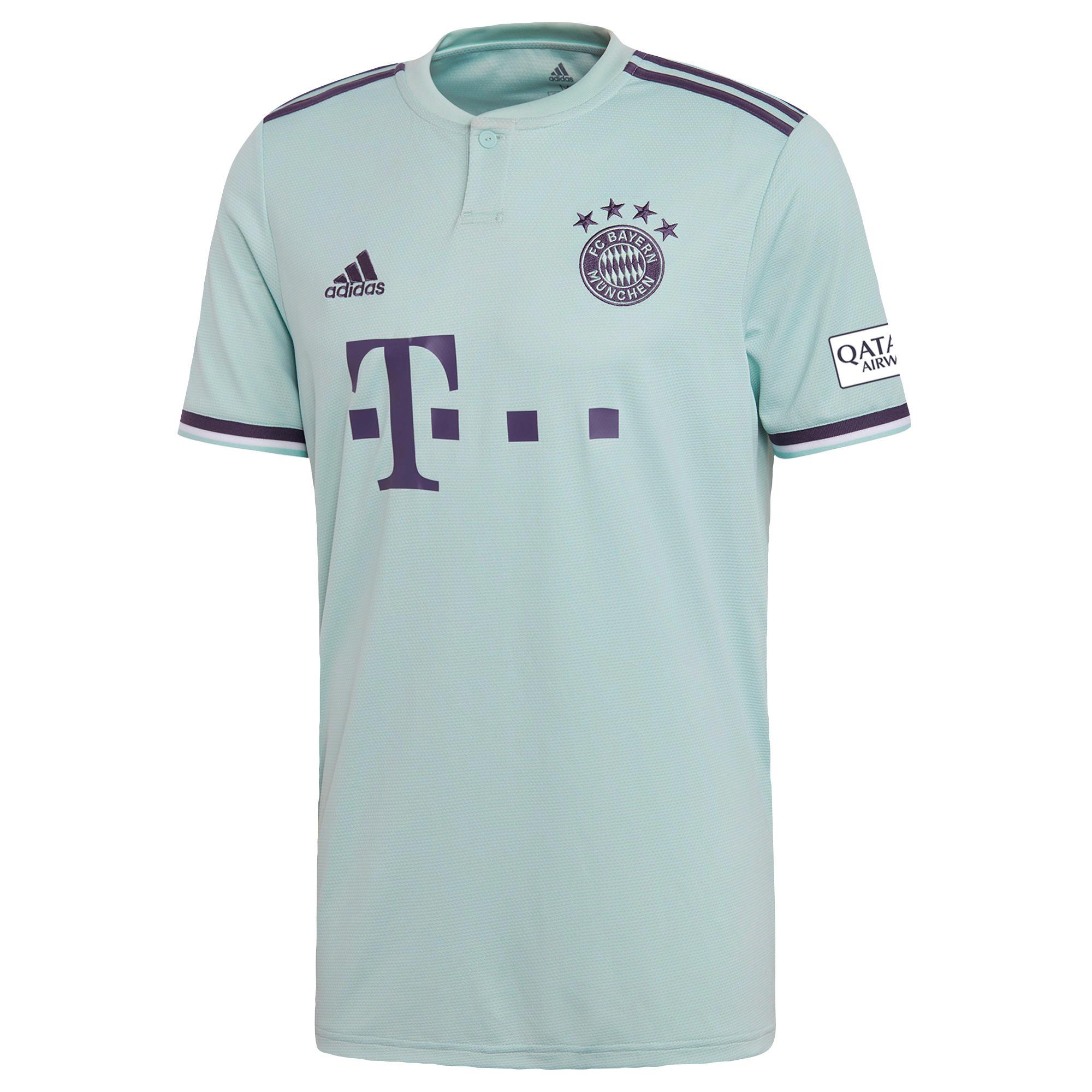 Adidas Voetbalshirt Bayern München uitshirt 18/19 voor kinderen