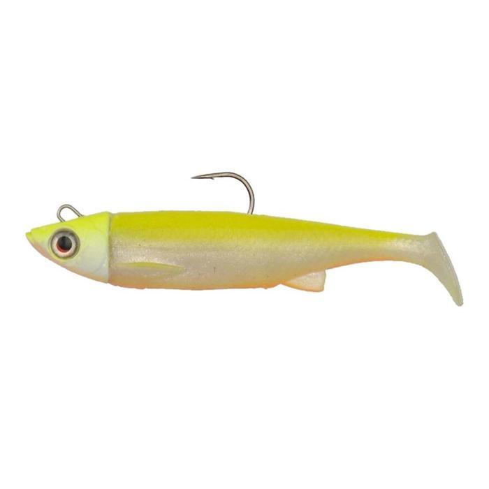 Softbait voor zeevissen 3D TPE minnow 13 cm