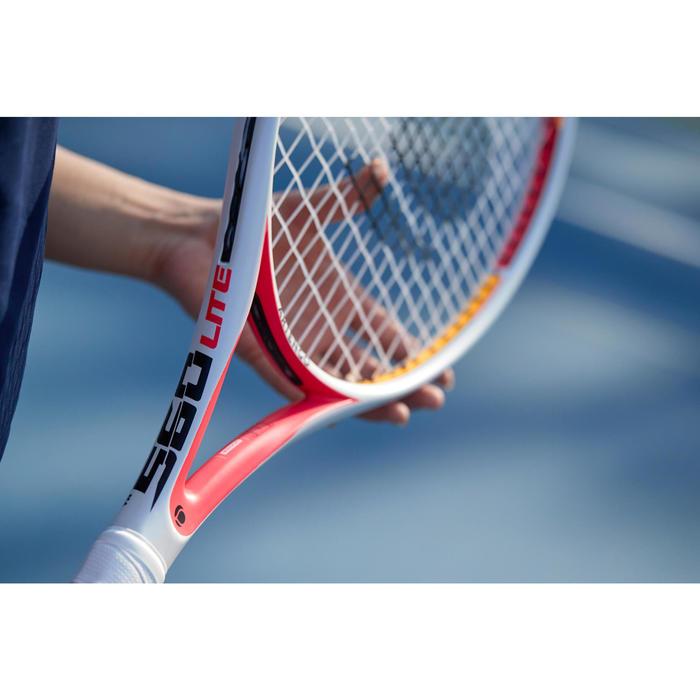 Tennisracket voor volwassenen TR560 Lite wit