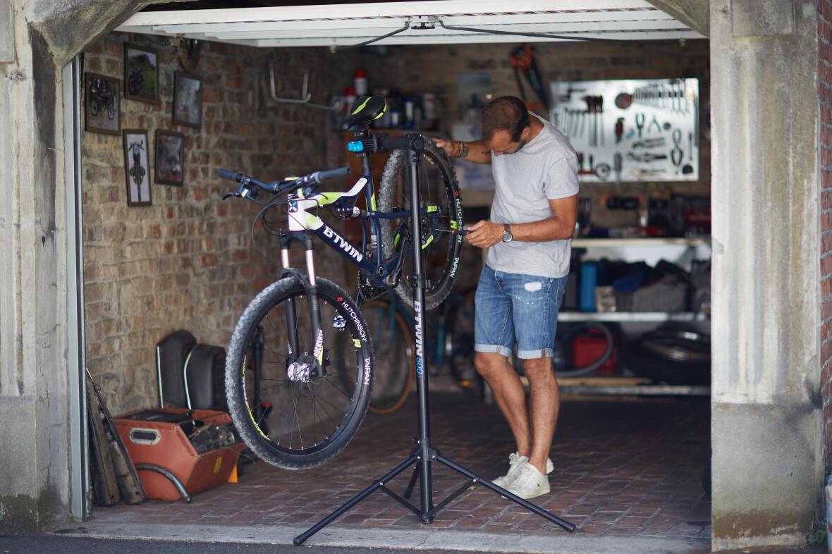montagem bici em casa