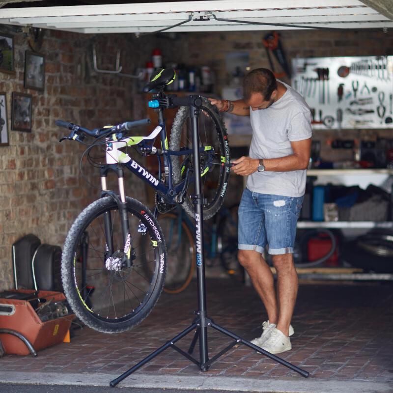 montar bici em casa