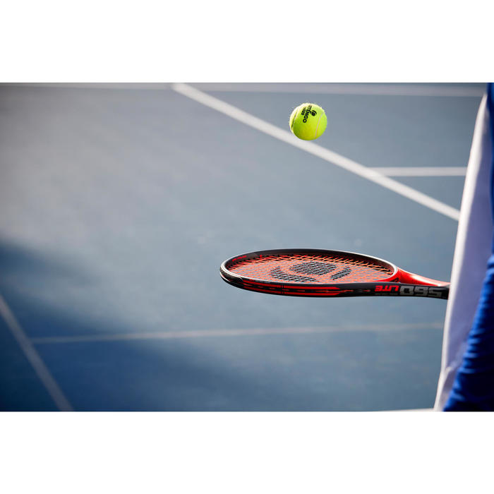 Tennisracket volwassenen TR560 Lite zwart