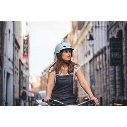 500 City Cycling Bowl Helmet - Pastel Mint