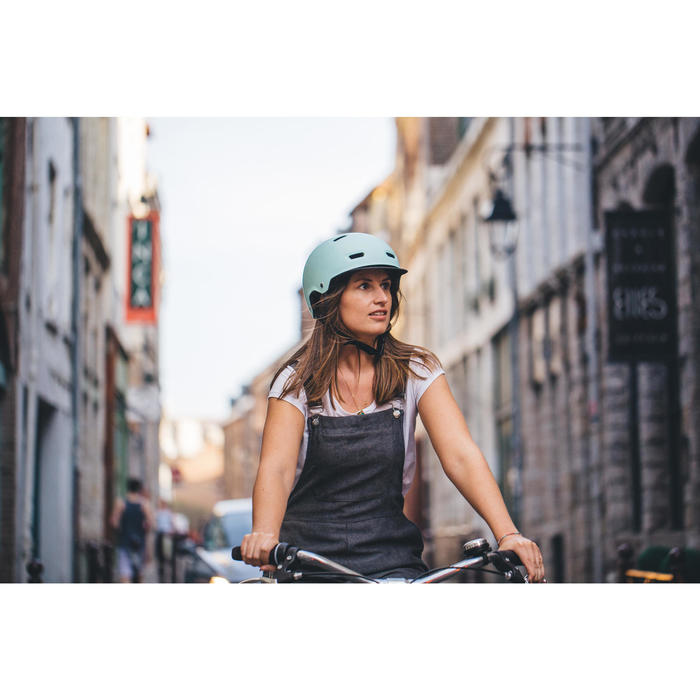 Fahrradhelm 500 minze/pastell