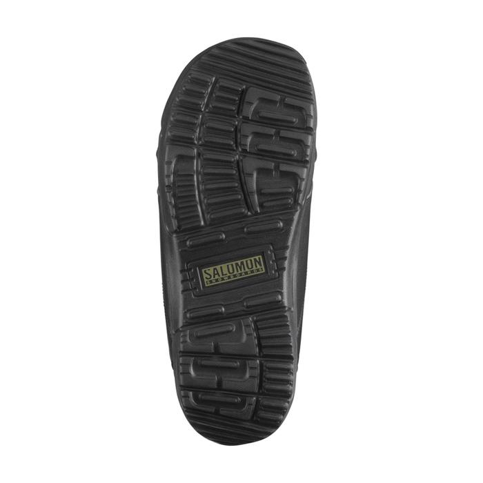 Chaussures de snowboard homme all mountain, Faction Zone Lock, noires