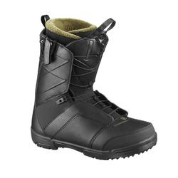 Snowboardboots voor heren all mountain Faction Zone Lock zwart