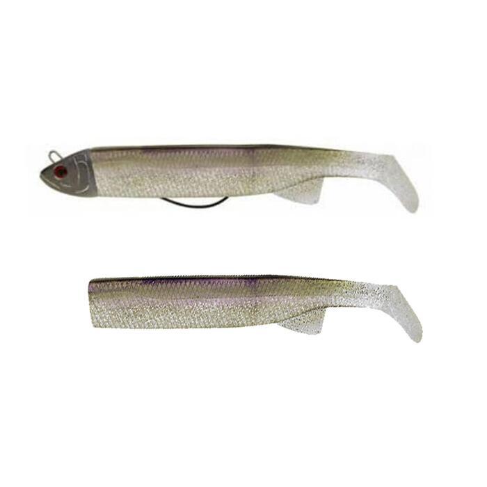 LEURRE TEX SHAD COMBO 100 COL 01 pêche en mer