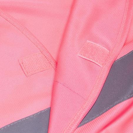 500 Adult Hi-Vis Cycling Gillet - EN1150 Pink
