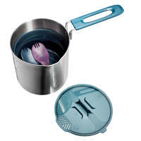 Trek 500 Stainless Steel 2-Person 1.6 L Cooking Set