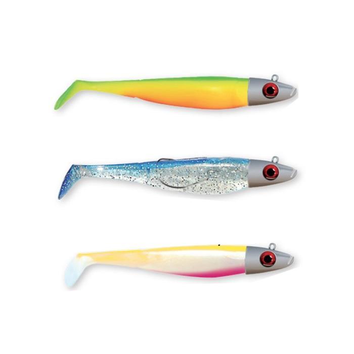 Kit leurres souples medium pêche en mer