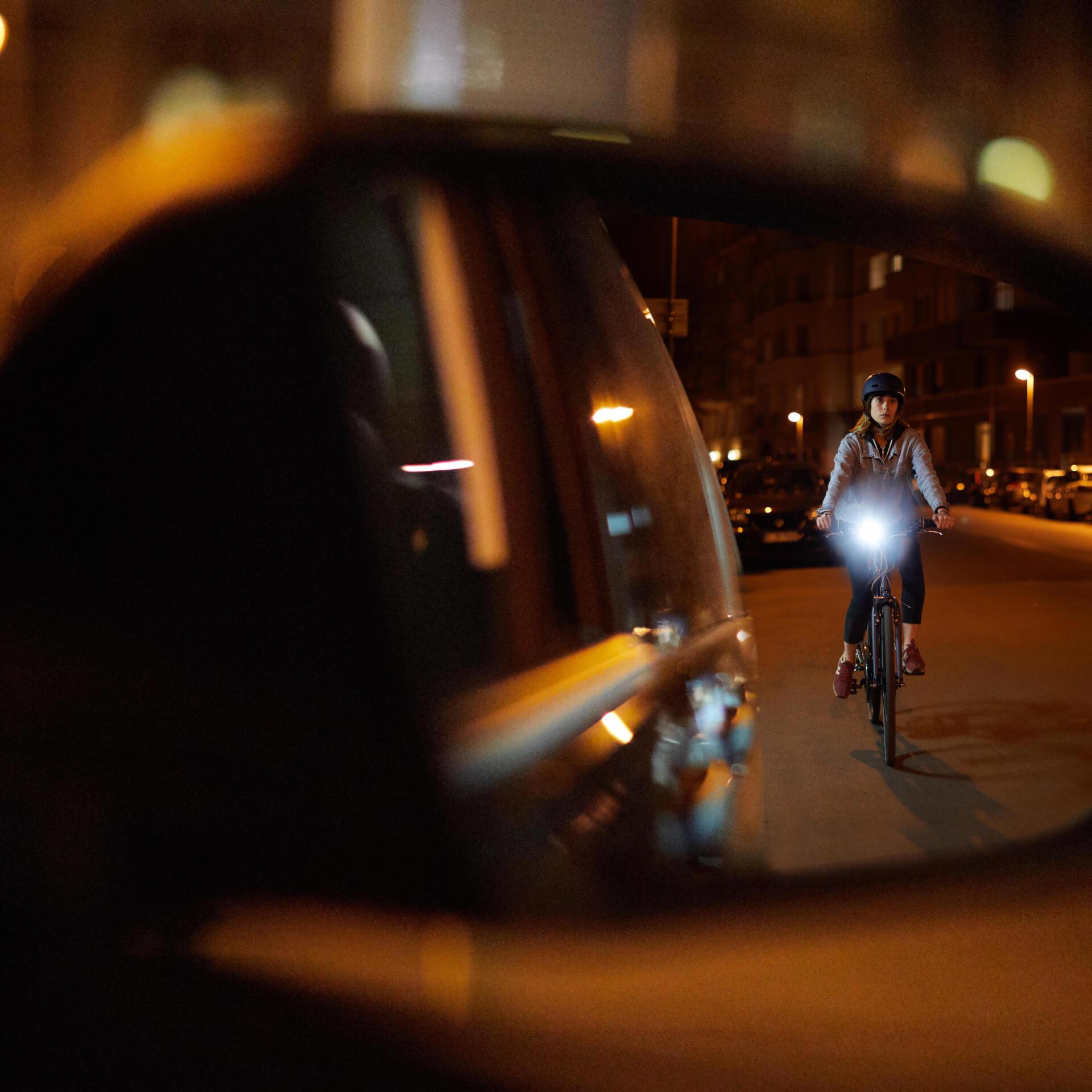 nachtverlichting in de stad