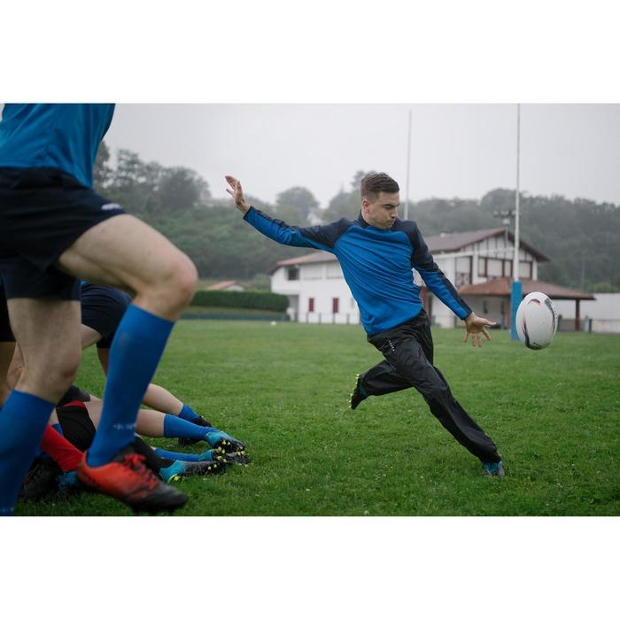 Smockpant Rugby R500 wasserdicht Erwachsene schwarz