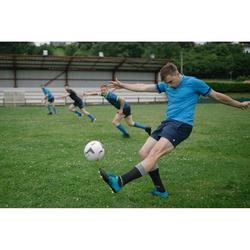 Short rugby homme R100 bleu