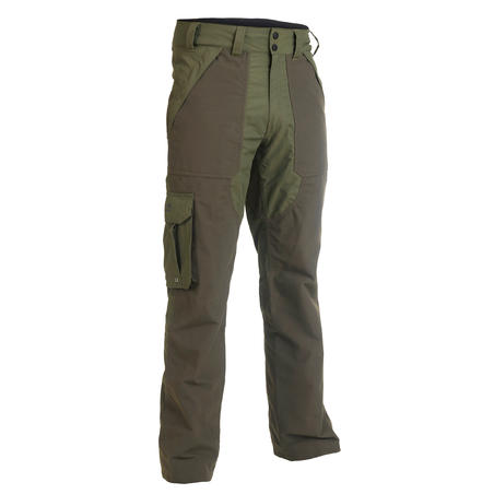Inverness 500 waterproof hunting trousers - green