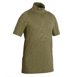 500 Lightweight, Breathable Short-Sleeve Hunting T-Shirt - Green