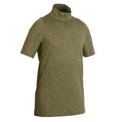 輕量透氣狩獵短袖T恤500-綠色