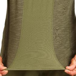 Jagd-T-Shirt 500 leicht atmungsaktiv grün