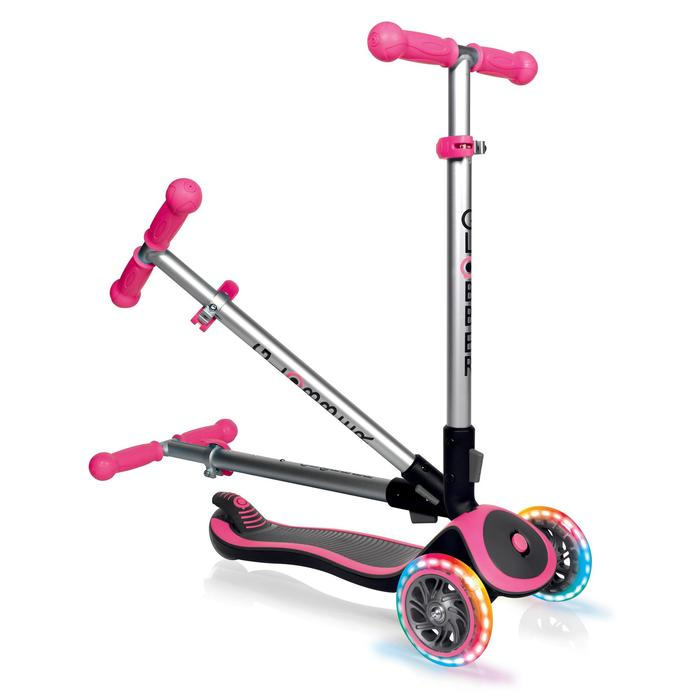 TROTTINETTE ENFANT EXPERT LIGHT NEON PINK