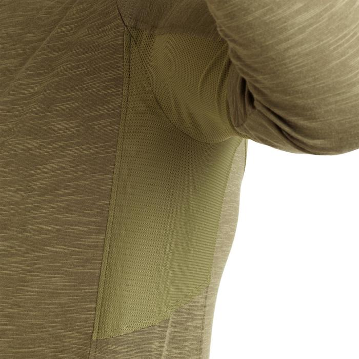 Licht en ademend jagersshirt met lange mouwen 500 groen