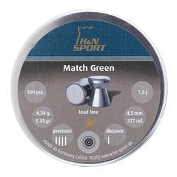 PLOMB H&N MATCH GREEN