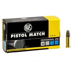 BALA 22 Long Rifle Pistol Match RWS