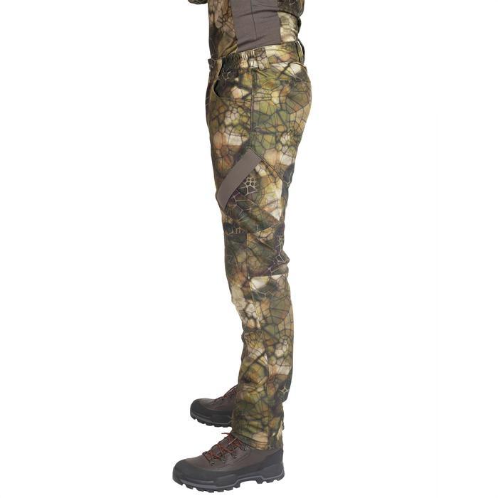 Pantalón Caza Solognac BGS 900 Silencioso Transpirable Camuflaje Sigilo