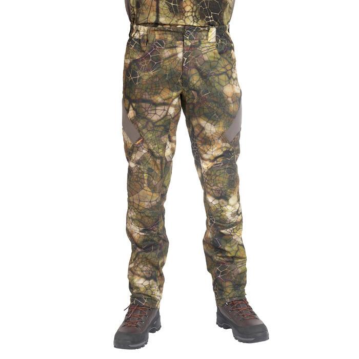 Jagdhose BGS900D geräuscharm atmungsaktiv Pirsch camouflage FURTIV