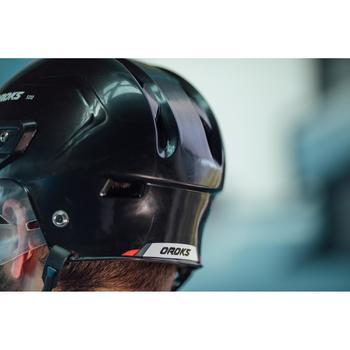 IJshockeyhelm voor kinderen IH 500 zwart