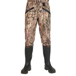 Warme jagersbroek 500 moeras camouflage
