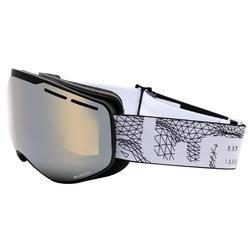 兒童與成人好天氣單/雙板滑雪護目鏡G 540 - 亞洲黑色