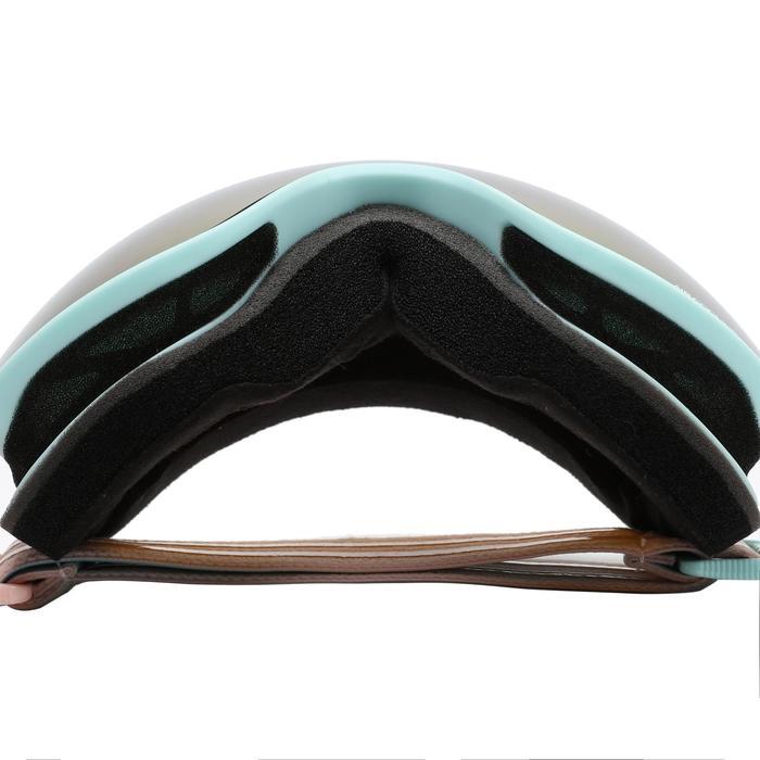 女款與女童好天氣單/雙板滑雪護目鏡G 540 - 亞洲藍色