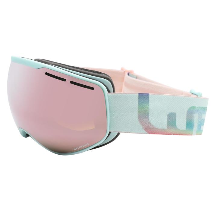 WOMEN AND GIRL'S GOOD WEATHER SKIING AND SNOWBOARDING GOGGLES G 900 - ASIA BLUE