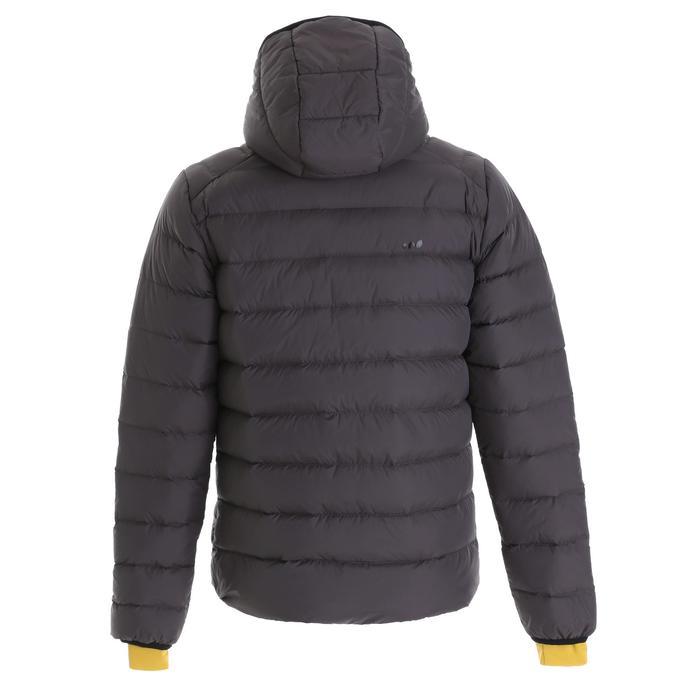 男款保暖滑雪羽絨外套Ski-P 500 - 黑色
