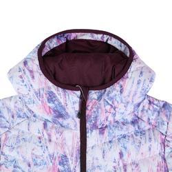 女款保暖滑雪羽絨外套JKT 500 - 粉紅色