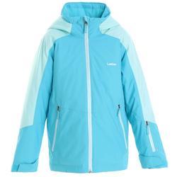 青少年滑雪外套SKI-P JKT 580 - 藍綠色
