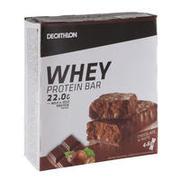 Komplet beljakovinskih ploščic WHEY z okusom čokolade in lešnikov