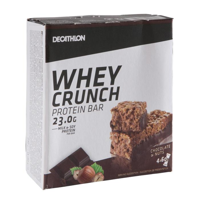 Eiwitreep Whey Crunch Bar chocolade/hazelnoot pack
