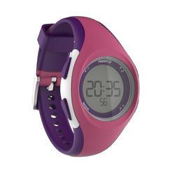 Horloge met stopwatch W200 S roze en paars