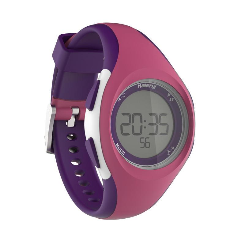 W200 S women's running watch - Pink and Purple