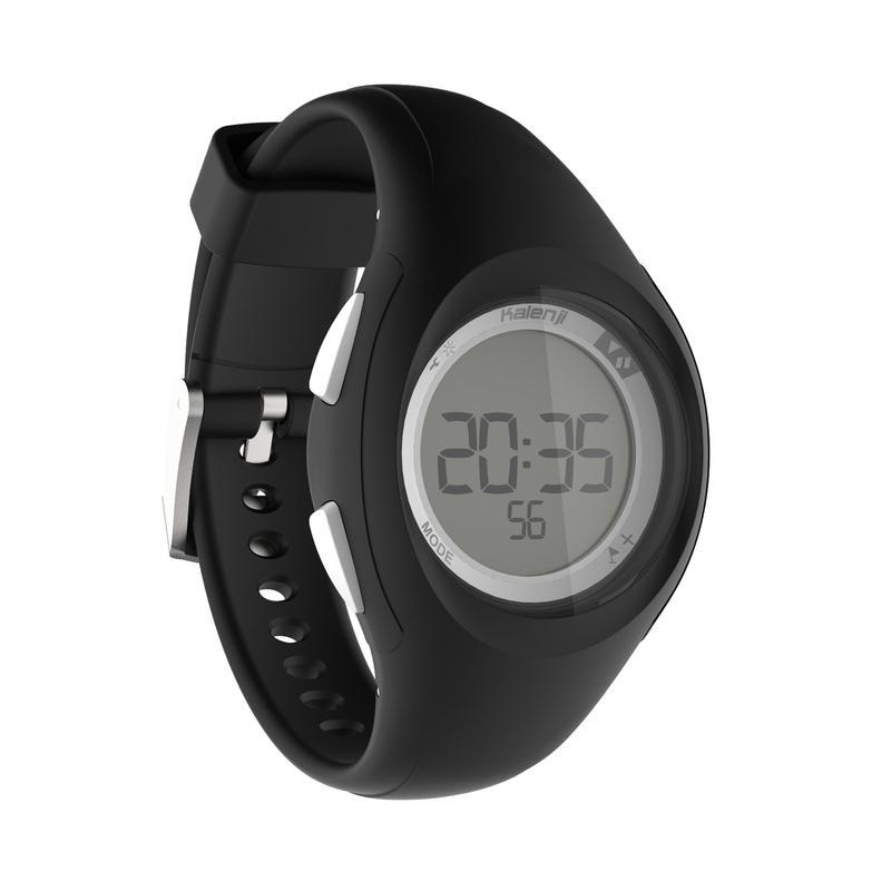 777848ea4 Reloj cronómetro de running para mujer W200 S negro