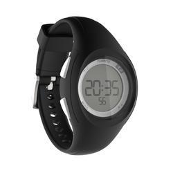 Reloj Cronómetro Running Kalenji W200 S Mujer Negro