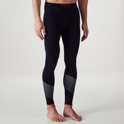 Warme en ademende tight voor volwassenen Keepdry 900 zwart rode tailleband