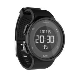 Relógio Cronómetro de corrida Homem W500 M Preto