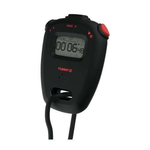 Chronomètre électronique athlétisme onstart 110 noir