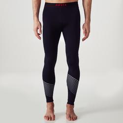 Funktionstights Keepdry 900 warm und atmungsaktiv Erwachsene schwarz/rot