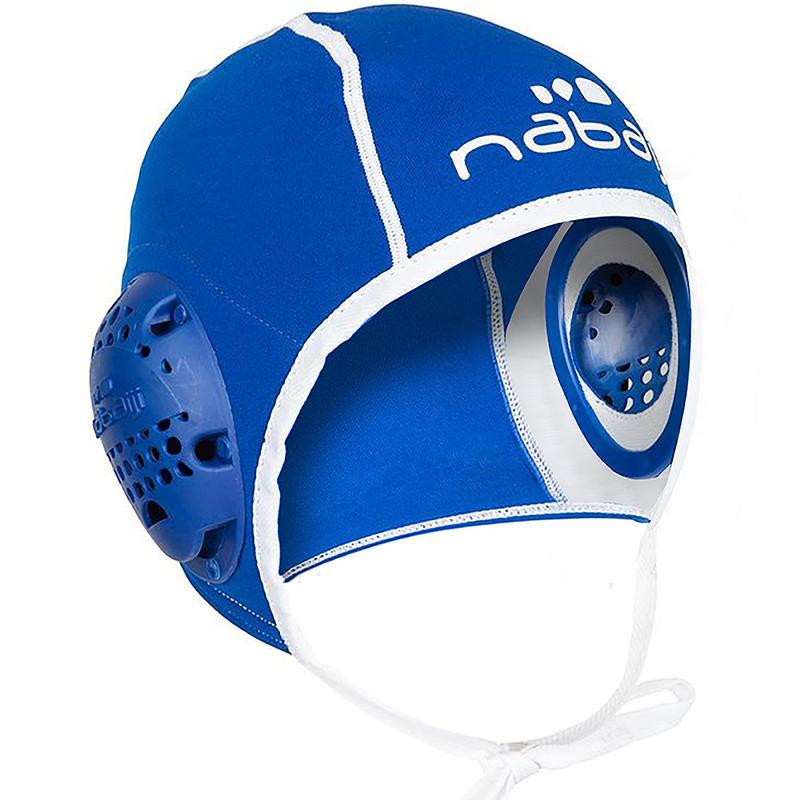 หมวกเล่นโปโลน้ำสำหรับผู้ใหญ่ (สีน้ำเงิน)