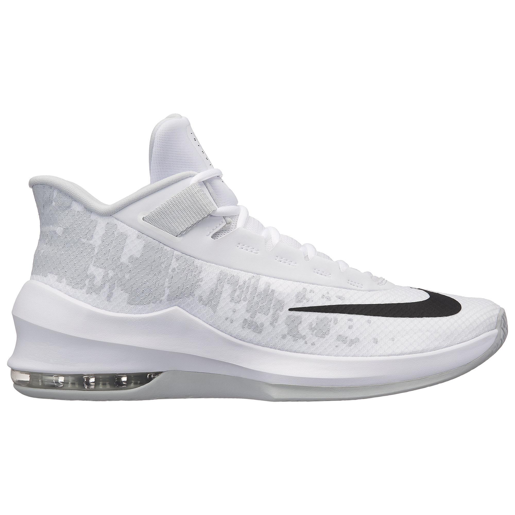 pretty nice 93123 6236b ZAPATILLAS DE BALONCESTO AIR MAX INFURIATE 2 blanco negro Nike   Decathlon